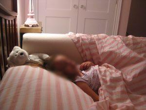 bed Nanny in use