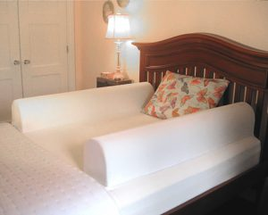 Installed double size bed Nanny ™ unit