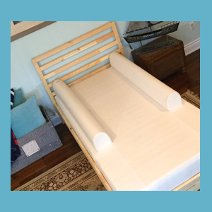 Fitted Bed Sheet With Guards For STANDARD SINGLE BED Mattress