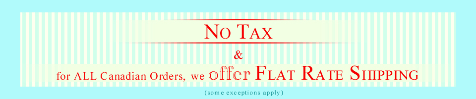 NOTAX - FLAT RATE SHIPPING banner03